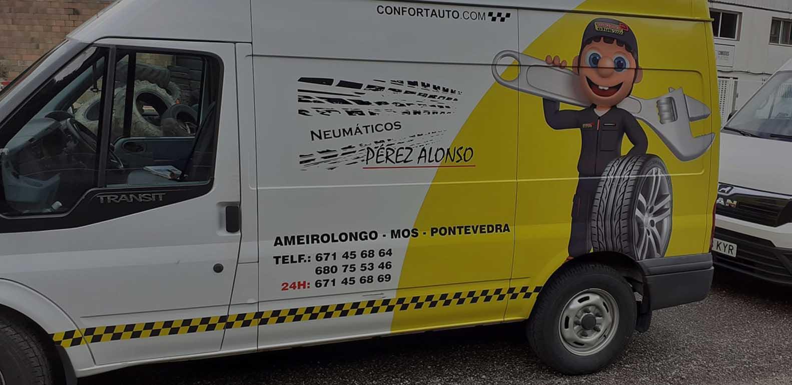 Neumáticos Pérez Alonso